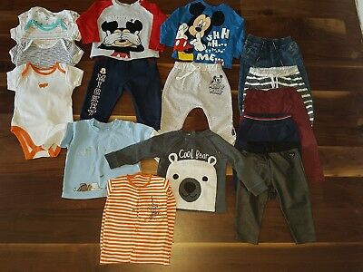 large baby boys clothes bundle aged 6-9 months