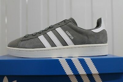 the latest d5d58 9a293 Men,s Adidas Originals Campus Greywhite Bz0085 Bnib 34