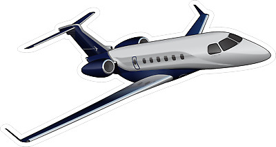 Embraer Legacy 500 aircraft sticker