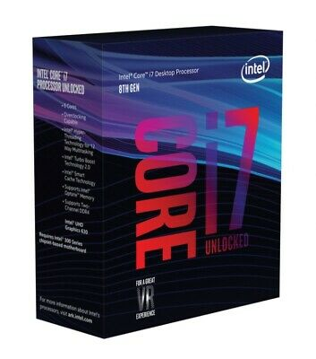 Intel Core i7-8700K Coffee Lake LGA 1151 3.7GHz 14 nm 6-Core CPU BX80684I78700K