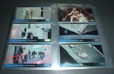 STAR WARS : Widevision - A New Hope : 120 Card Base Set : 1994 TOPPS