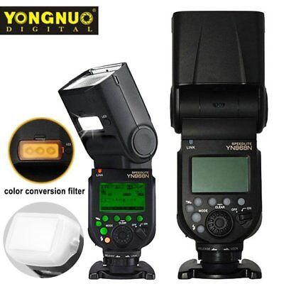 For Nikon, Yongnuo YN968N LED Wireless TTL Speedlite Flash Built-in Diffuser