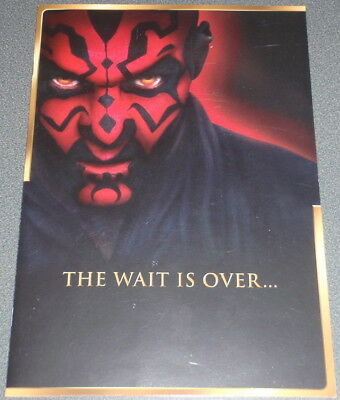 Star Wars : Episode I (one) : VHS Dealer Ad / Promotional Brochure : 2000