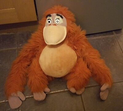 "18"" disney jungle book king louie soft plush toy"