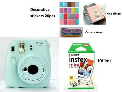 Instax Mini9 instant Polaroid Camera with 10films Package