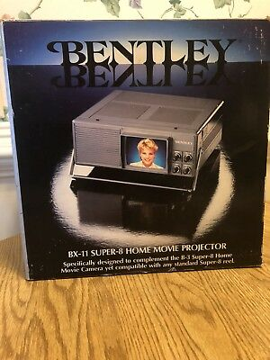 Bentley BX-11 Super 8 Home Movie Projector New - Never Used