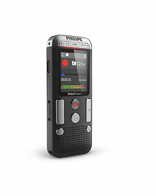 Philips Speech Voice Tracer with 2 Mic Stereo Recording Black