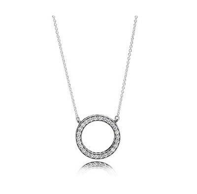 Pandora Hearts Of Pandora Pendant Necklace S925 Sterling Silver Free Shipping