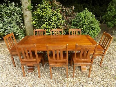 Swell John Lewis Rustic Solid Hardwood Dining Table With 8 Chairs Andrewgaddart Wooden Chair Designs For Living Room Andrewgaddartcom