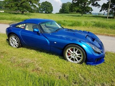 2005 TVR Sagaris GTS Blue Pearlescent Full Hide