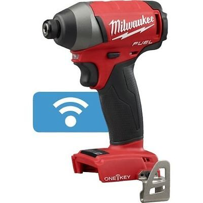 New Milwaukee ONE KEY Fuel M18 18 Volt Hex Impact Driver (Bare Tool) # 2757-20