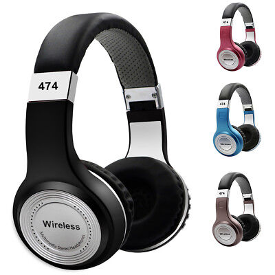 Wireless Bluetooth 4.1 Headphones Foldable Headset Stereo Earphones With Mic