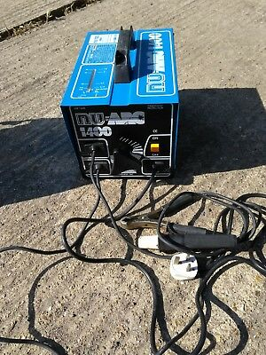 40-140 amp Arc welder Stick 240v. With box of electrodes, face shield. Collect.