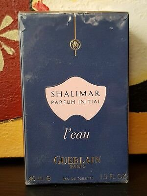 GUERLAIN SHALIMAR PARFUM INITIAL L'EAU DONNA EDT VAPO NATURAL SPRAY - 40 ml