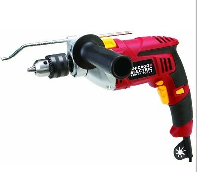 New 1/2 in. Heavy Duty Variable Speed Reversible Hammer Drill