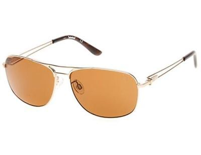 68b200ea2b NWT TIMBERLAND Sunglasses TB 9073 33H Polarized Gold   Brown 60 mm TB9073  NIB