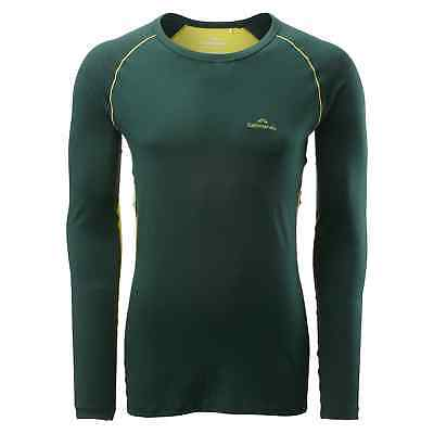 Kathmandu Flinders Men's Merino Wool Hiking Walking Thermal Top