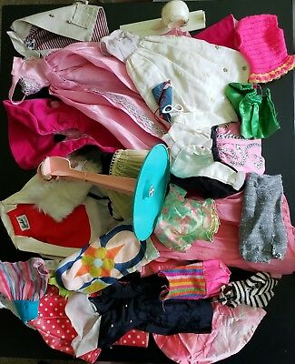 Barbie Vintage Big Lot Of Random Tlc Items!  Junk Parts!