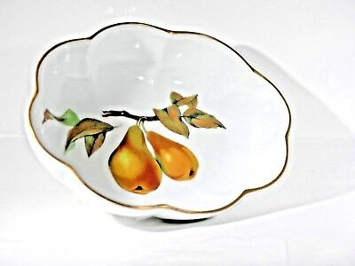 Royal Worcester EVESHAM GOLD Heatproof Oven to Tableware Serving Dishes Cookware & ROYAL WORCESTER Evesham Oven To Table Souffle Dish 6\
