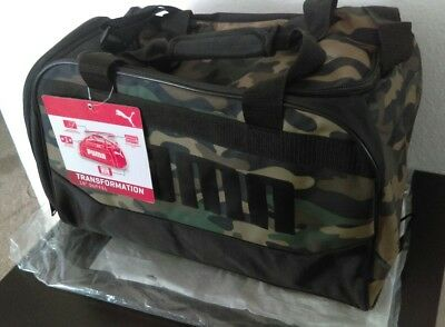 02346b9820d8 New With Tag PUMA Transformation 2.0 Duffel Bag Camouflage FREE SHIPPING