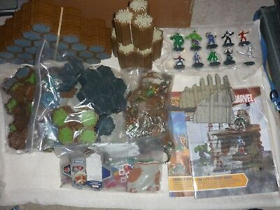 Heroscape Lot Rise of the Valkyrie Master Set Complete + Marvel Conflict Begins