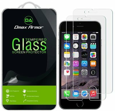[2-Pack] Dmax Armor for Apple iPhone 8/ 8 Plus Tempered Glass Screen Protector