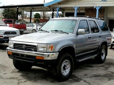 4Runner SR5 V6 4X4 5-SPEED MANUAL 1993 Toyota 4Runner SR5 V6 4X4 5-SPEED MANUAL Automatic 4-Door 4WD SUV OFF ROAD