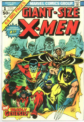 Giant Size Xmen 1 Custom Made Cover with 1980'S REPRINT