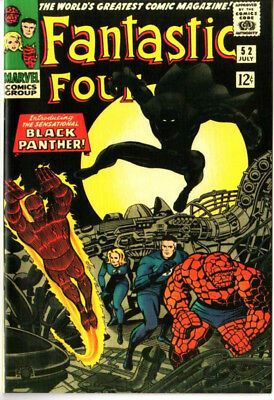 Fantastic Four 52 Custom Made Cover with 1969 REPRINT 1st Black Panther Reprint