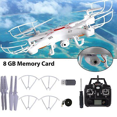 2.4Ghz 6-Axis Gyro RC Quadcopter Drone UAV RTF UFO X5C-1 with 0.3MP HD Camera