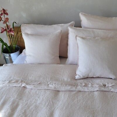 ON SALE 100% Pure French Flax Linen Bedding Sets Bed Sheets Quilts Duvet  Covers