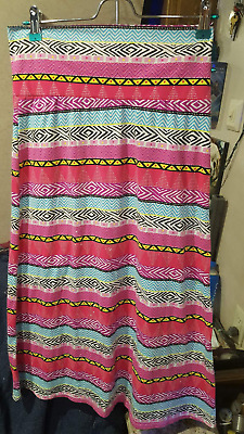 Bright, Multi-Color Maxi Skirt Girls (SIZE XL 14-16)