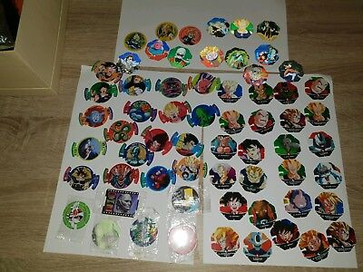 mixed dragonball and other tazos