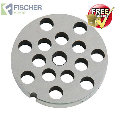 """new"" Mincer - Grinder Cutting Plate 10Mm For #12 Mincer - Other Sizes Available"