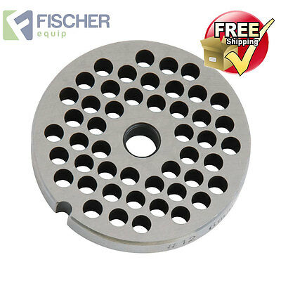 """new"" Mincer - Grinder Cutting Plate 6Mm For #12 Mincer - Other Sizes Available"