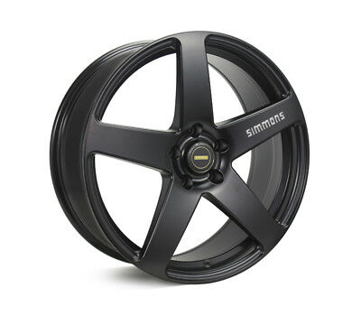 NISSAN X-TRAIL WHEELS PACKAGE: 20x8.5 20x10 Simmons FR-C Full Satin Black and Go