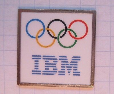 IBM / OLYMPISCHE RINGE  ...................Computer Pin (154a)