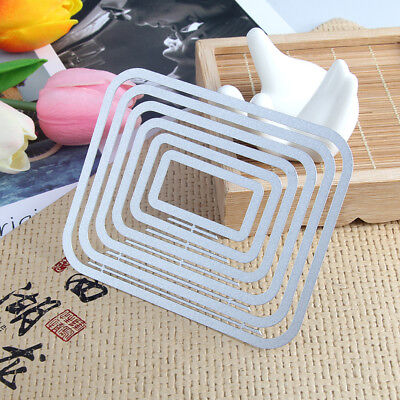 Rectangle Metal Cutting Dies DIY Stitched  Scrapbooking Paper Card Emboss Die
