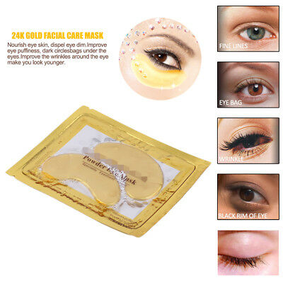 Gold Gel Anti rughe Dark Circle Collagene Under Occhio Patches Pad Mask Nuovo CM