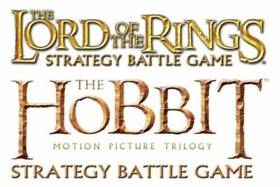 Lord Of The Rings / The Hobbit Miniatures Game - Armies Of Evil Metal Figures