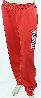 JOMA Sweathose Kids Trainings- Jogginghose Damen Rot Gr.98,110,134,146,34,36,40