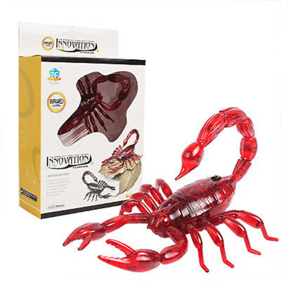 RC Simulation Scorpion Remote Control Toy Gift Red Children Kids Fun Game