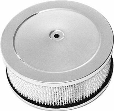Chrome 6 38 X 2 12 Muscle Car Style Air Cleaner Se