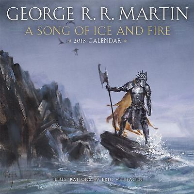 George R.R. Martin: A Song of Ice and Fire Calendar 2018