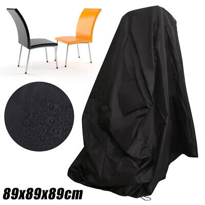 Waterproof Chair Dust Rain Cover Outdoor Garden Patio Furniture Protection 35""