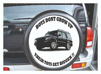 Land Rover Freelander 4X4 Personalised Spare Wheel Cover Semi Rigid