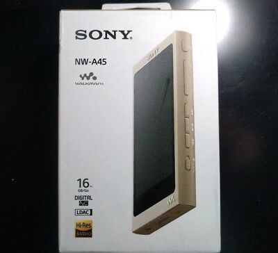 Sony NW-A45 16GB Walkman Hi-Res Audio Digital Music Player - Gold ✔NEW✔