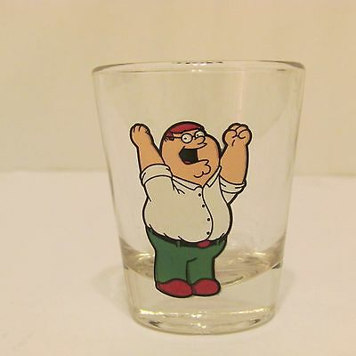 Family Guy Peter Griffin Shot Glass 2004