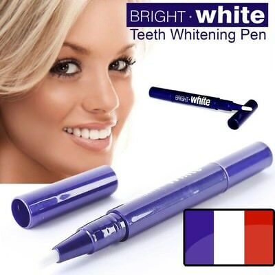 Stylo Blanchiment Des Dents Pinceau Gel Blanchisseur Dentaire Bright White Neuf