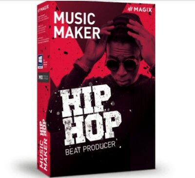 MAGIX Music Maker Hip Hop Beat Producer Software DIGITAL KEY